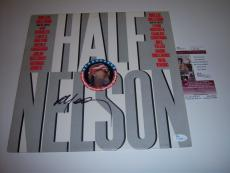 Willie Nelson Half Nelson Jsa/coa Signed Lp Record Album