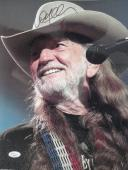 WILLIE NELSON HAND SIGNED OVERSIZED 11x14 COLOR PHOTO     AWESOME+VERY RARE  JSA