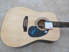 Willie Nelson IP Signed Autographed Guitar On The Road Again PSA Certified