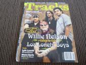 Willie Nelson & Los Lonely Boys Signed Tracks Magazine Cover Photo PSA Guarantee
