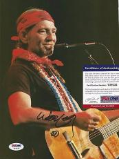 Willie Nelson Music Legend Signed Autographed 8x10 Book Page W/coa Authentic C