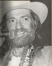 Willie Nelson Music Legend Signed Autographed Country Music Book W/coa Authentic