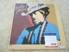 Willie Nelson My Own Way Signed Autographed LP Album Record PSA Certified