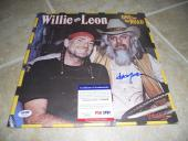 Willie Nelson One for the Road Signed Autographed LP Album Record PSA Certified