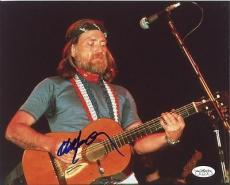 Willie Nelson Signed 8x10 Photo Jsa
