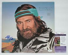 Willie Nelson Signed Always On My Mind Record Album Jsa Coa K42135