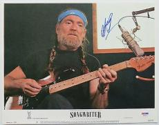 Willie Nelson Signed Authentic Autographed 11x14 Lobby Card (PSA/DNA) #T80416