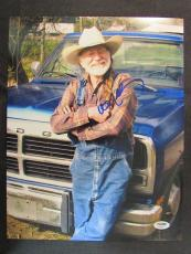 Willie Nelson Signed Auto Autograph 11x14 Photo PSA/DNA AB42649