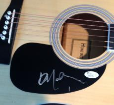 Willie Nelson Signed Autograph New Full Natural Wood Acoustic Guitar Jsa 92325