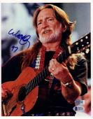 WILLIE NELSON Signed Autographed 8x10 Photo BECKETT BAS #C02455