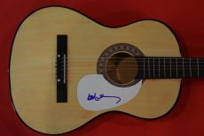 Willie Nelson Signed Autographed Acoustic Guitar Outlaw Country Music Legend A