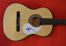 Willie Nelson Signed Autographed Acoustic Guitar Outlaw Country Music Legend B