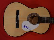 Willie Nelson Signed Autographed Acoustic Guitar Outlaw Country Music Legend D