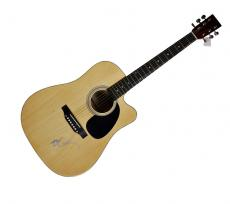 Willie Nelson Signed Autographed Acoustic Guitar w Exact Video Proof