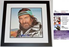 Willie Nelson Signed - Autographed Always On My Mind LP Record Album Cover BLACK CUSTOM FRAME - JSA Certificate of Authenticity