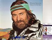 Willie Nelson Signed - Autographed Always On My Mind LP Record Album Cover - JSA Certificate of Authenticity