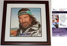 Willie Nelson Signed - Autographed Always On My Mind LP Record Album Cover MAHOGANY CUSTOM FRAME - JSA Certificate of Authenticity