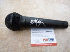 Willie Nelson Signed Autographed Country Music Microphone PSA Certified
