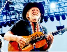 Willie Nelson Signed - Autographed Country Singer 11x14 inch Photo - Guaranteed to pass PSA or JSA - Country Music Legend