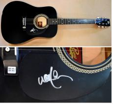 Willie Nelson Signed - Autographed Rogue Acoustic Guitar - Country Music Legend - Guaranteed to pass PSA/DNA, JSA, BAS