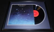 Willie Nelson Signed Framed 1978 Stardust Record Album Display JSA