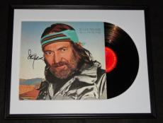 Willie Nelson Signed Framed 1982 Always on My Mind Record Album Display