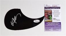 Willie Nelson Signed Guitar Pickguard Jsa Coa K42278