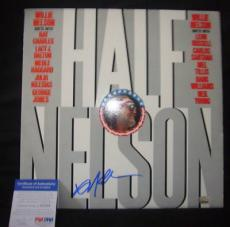 WILLIE NELSON signed *HALF NELSON* record Album PSA/DNA