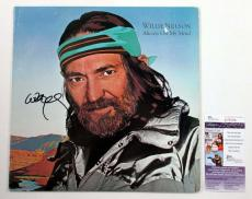 Willie Nelson Signed LP Record Album Always on My Mind w/ JSA AUTO