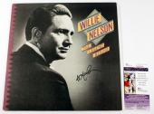 Willie Nelson Signed LP Record Album The Legend Begins w/ SGC AUTO