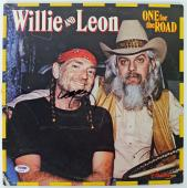 Willie Nelson Signed One For The Road Album Cover PSA/DNA #AB43083