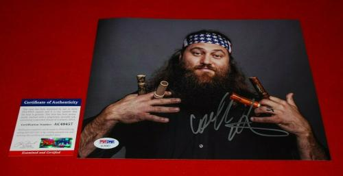 WILLIE ROBERTSON duck commander duck dynasty signed PSA/DNA 8x10 photo