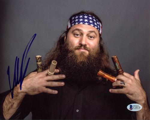 Willie Robertson Duck Dynasty Signed 8X10 Photo BAS #C18578