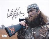 WILLIE ROBERTSON  Signed 8X10 Color Glossy Photo JSA U11322 (A 10 autograph)
