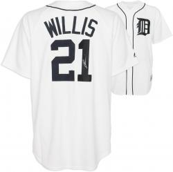 Dontrelle Willis Detroit Tigers Autographed Replica Jersey - Mounted Memories