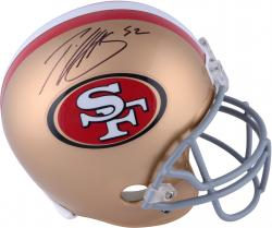 Patrick Willis San Francisco 49ers Autographed Riddell Replica Helmet