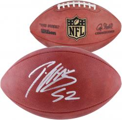 Patrick Willis San Francisco 49ers Autographed Duke Pro Football