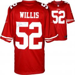 Patrick Willis San Francisco 49ers Autographed Nike Limited Red Jersey