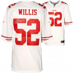 Patrick Willis San Francisco 49ers Autographed Nike Limited White Jersey