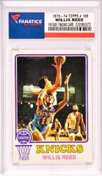 Willis Reed New York Knicks 1973-74 Topps #105 Card