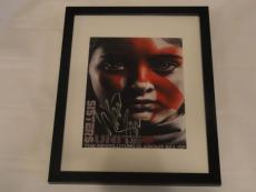 Willow Shields Signed Framed Hunger Games Mockingjay 2  Movie Poster Exact Proof