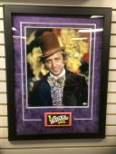 """Willy Wonka (Gene Wilder), """"Autographed"""" 16x20 Photo, Deluxe Framed (PSA)"""