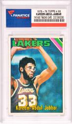 Wilt Chamberlain Los Angeles Lakers 1975-76 Topps #90 Card
