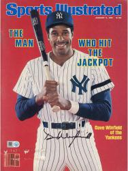 WINFIELD, DAVE AUTO (1/5/1981) (MLB) SPORTS ILLUSTRATED - Mounted Memories