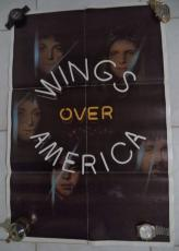 Wings Over America Paul Mccartney 1976 Poster Authentic Original Rare