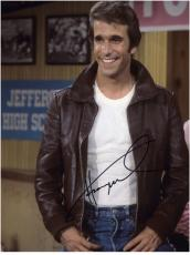 Henry Winkler Autographed 8'' x 10'' At Arnolds Photograph