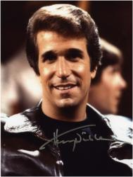 Henry Winkler Autographed 8'' x 10'' Head Shot Photograph - Mounted Memories