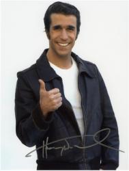 Henry Wrinkler Autographed 8x10 Photo