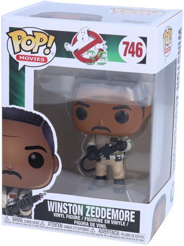 Winston Zeddermore Ghostbusters #746 Funko Pop! Figurine