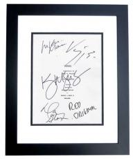 WITNESS Autographed Script Cover by Kelly McGillis, Danny Glover, Lukas Haas, and Viggo Mortensen (Viggo's 1st Movie Ever) BLACK CUSTOM FRAME